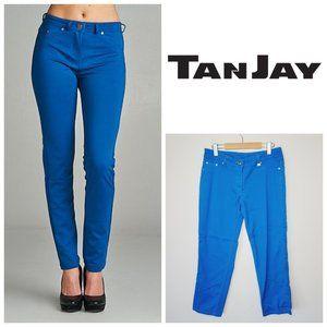 TANJAY Blue Hug Fit Skinny Jeans